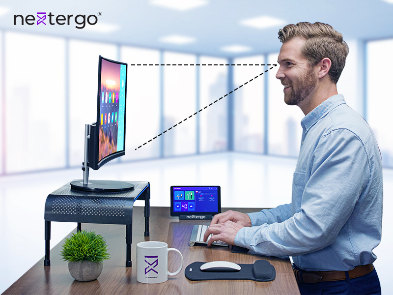 NextErgo Corrects Your Standing Posture
