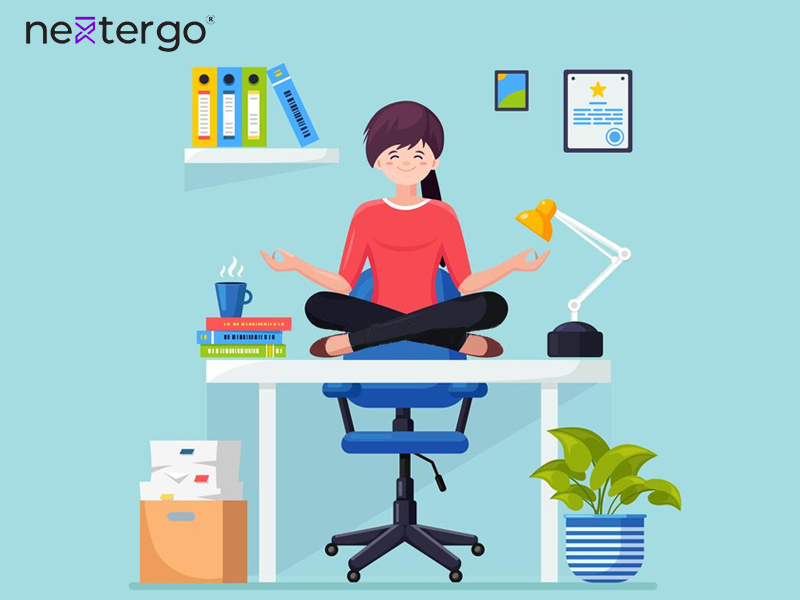 10 Desk Yoga Poses For Your Relaxation