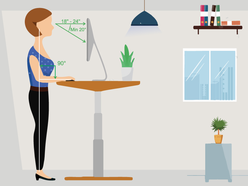 How can a standing desk help you?