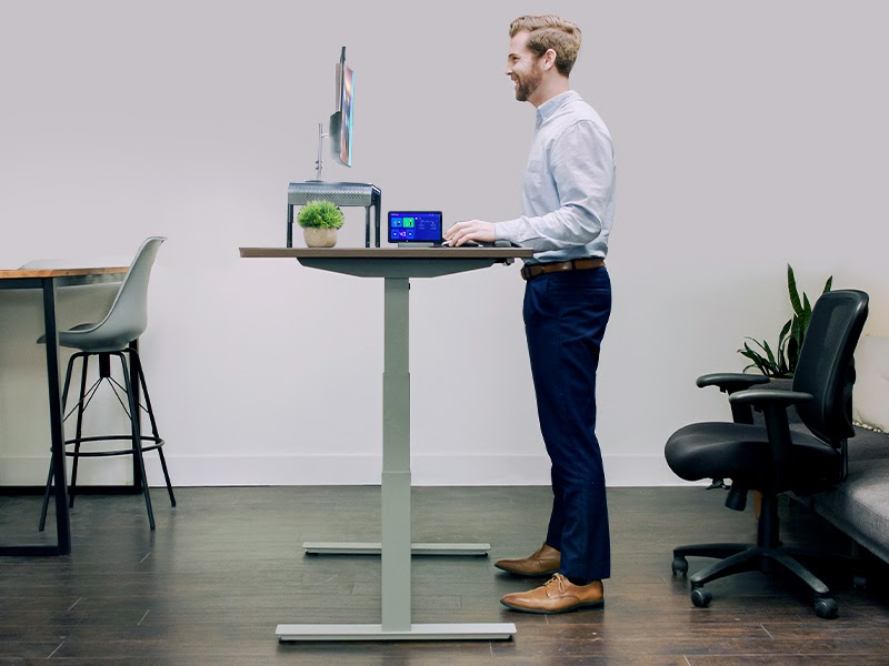 How To Stand At A Standing Desk?