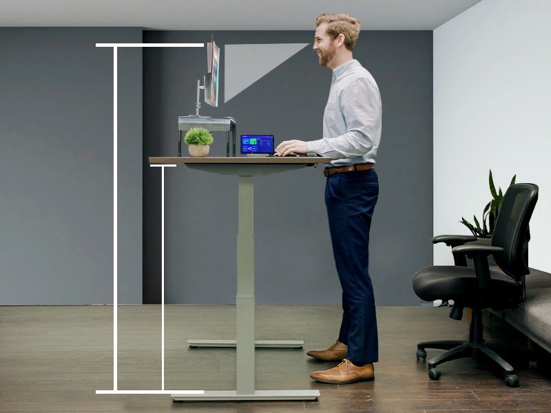 How Tall Should A Stand-Up Desk Be?