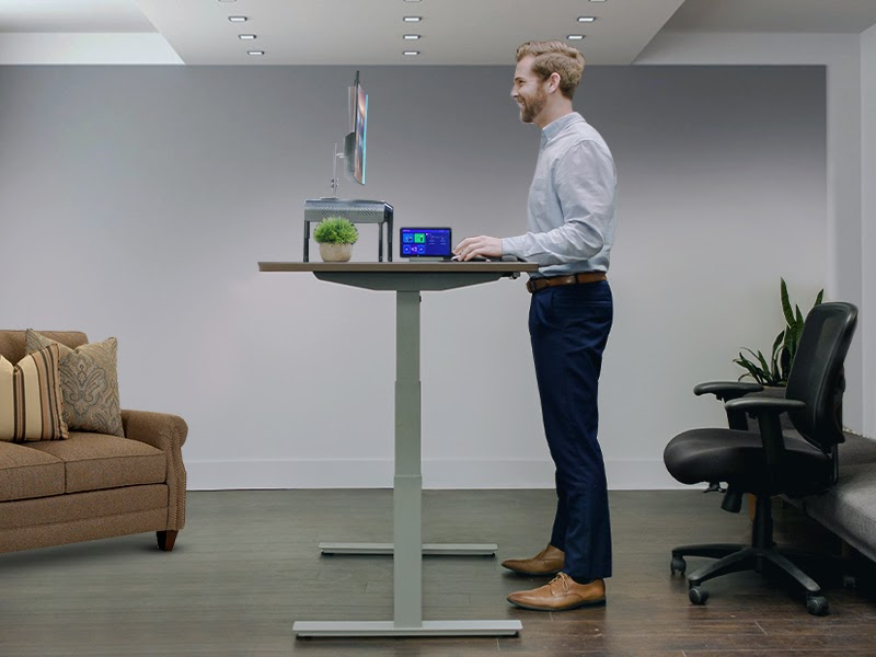 What Is The Best Way To Stand At A Standing Desk?
